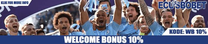 Welcome Bonus Sports Judi Bola 10%