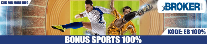 Promo Bonus Sports Judi Bola Online 100%